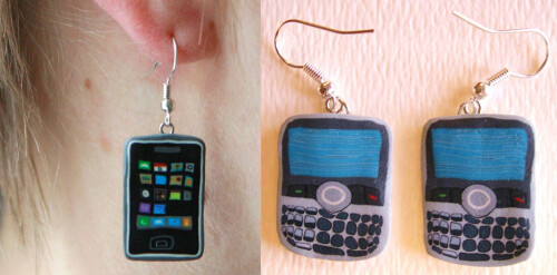 Phone Earrings