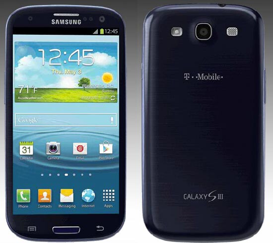 T-Mobile has the Samsung Galaxy S III for its heavy data users - T-Mobile to begin new unlimited data plan on September 5th
