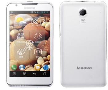 Lenovo's LePhone S880 phablet is helping the OEM take market share from Apple in China