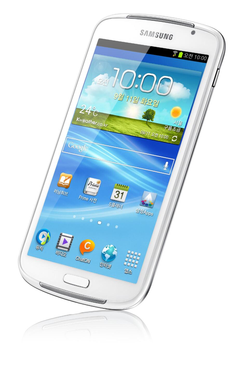 Samsung Galaxy Player 5.8 - Samsung Galaxy Player 5.8 is now official – jumbo-sized Galaxy S III look-alike