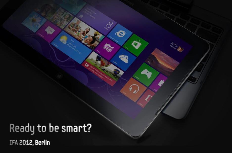 Samsung's mysterious Windows 8 transforming tablet will be announced at IFA 2012