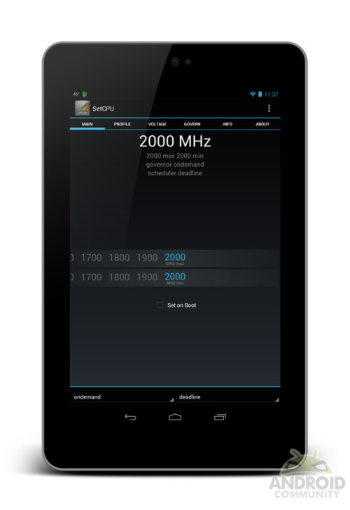 Google Nexus 7 clocked at 2.0GHz