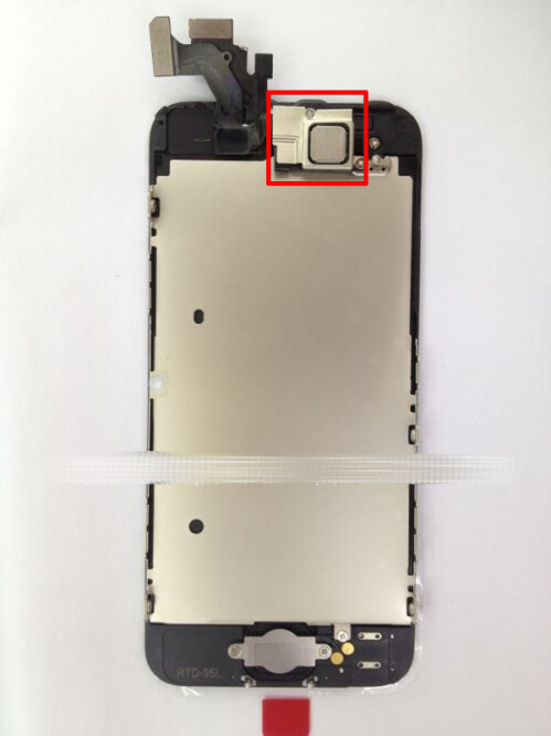 New set of iPhone 5 front assembly pics reveals a possible NFC chip setup