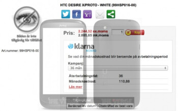 Earlier leaked HTC Proto might actually be the upcoming HTC Desire X