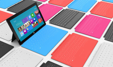 October 26th - Microsoft Surface launch