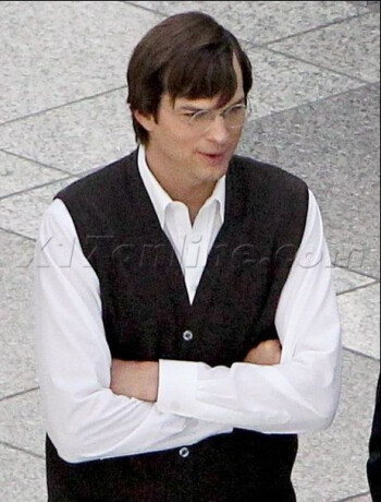 Photos of Ashton Kutcher playing Steve Jobs