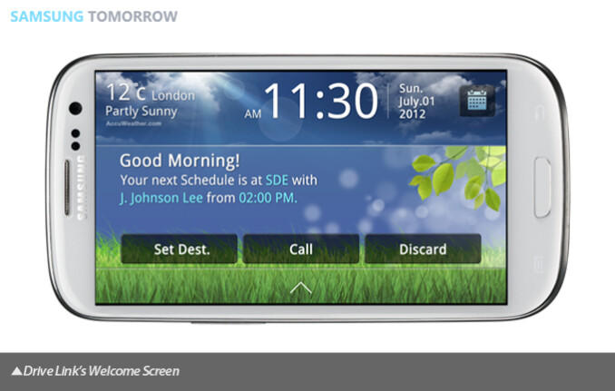 Samsung outs Drive Link app to help use your smartphone behind the wheel