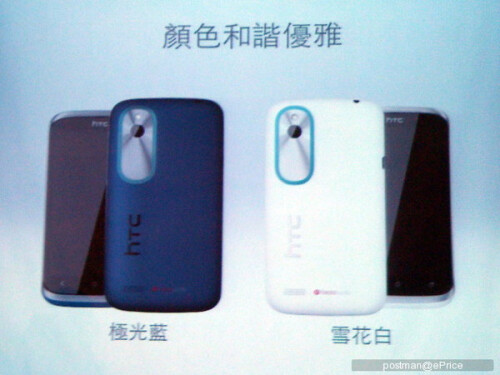 HTC Desire X leaked pictures