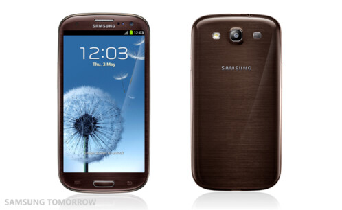 Samsung Galaxy S III in Amber Brown