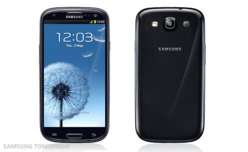 Samsung Galaxy S III in Sapphire Black
