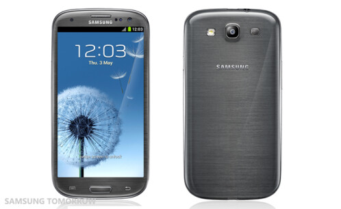 Samsung Galaxy S III in Titanium Grey
