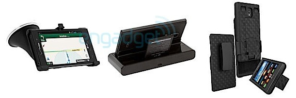 The LG Spectrum 2 with various accessories - Pictures of Verizon's LG Spectrum 2 leak