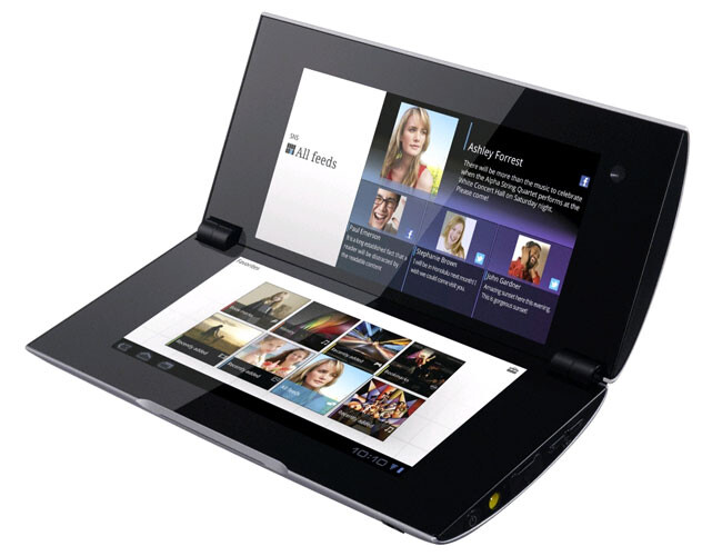 Another unique look for a tablet, the Sony Tablet P - New 10 inch tablet from HTC leaks with unique design