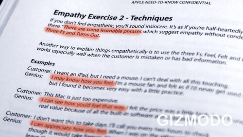 Various empathy techniques for Geniuses