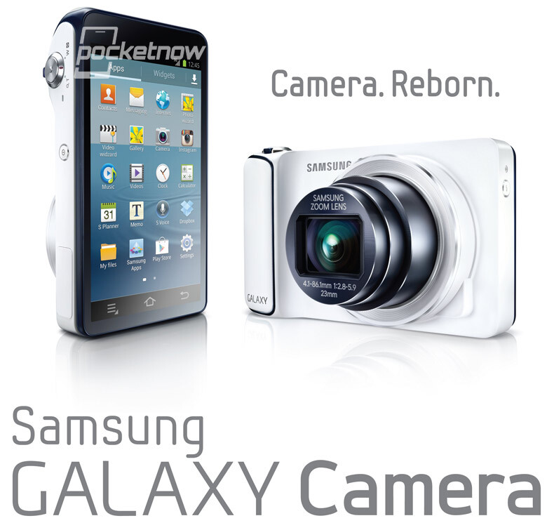 Samsung Galaxy Camera revealed, might get announced today