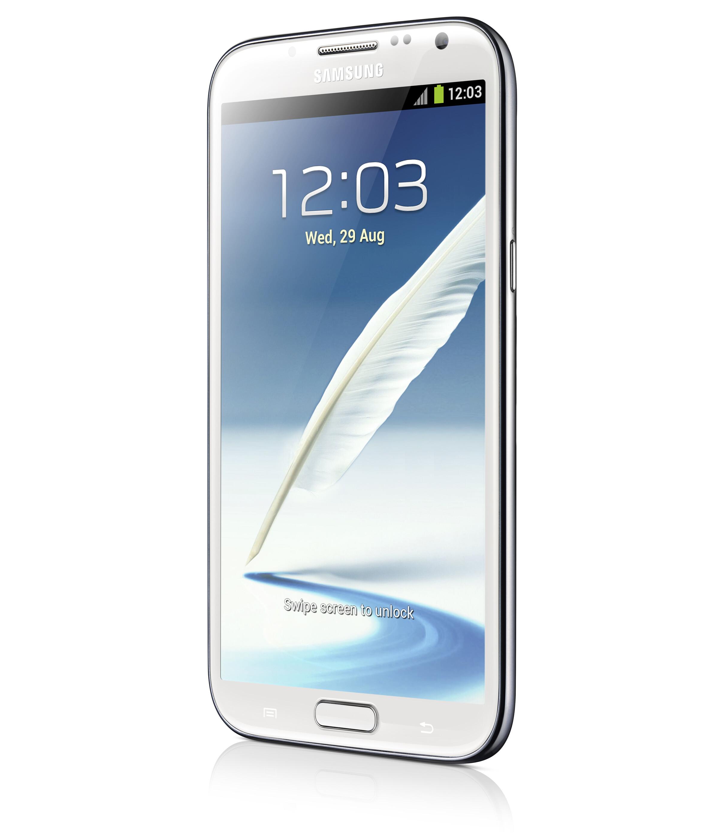 Samsung unveils Galaxy Note II: 5.5-inch HD screen, quad ...