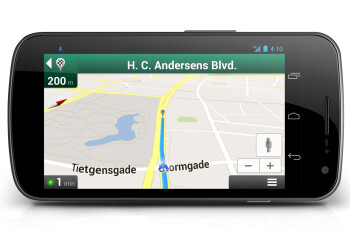Bicycle navigation in Copenhagen and Stockholm using Google Maps Navigation (beta) (R)
