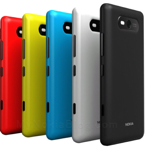 Alleged Nokia Windows Phone 8 handset leaks in jolly yellow, might be the midrange Arrow