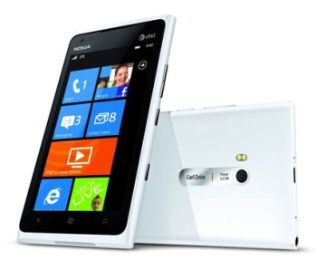 The Nokia Lumia 900 has a 4.3-inch ClearBlack screen