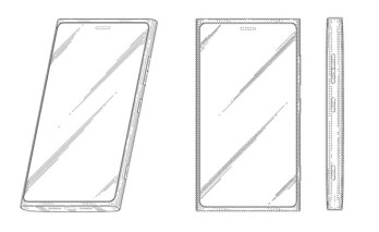 Possibly the design of an upcoming Nokia Lumia smartphone
