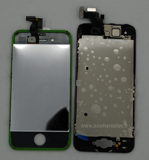Fully assembled iPhone 5 front leaks in high-res photos and video