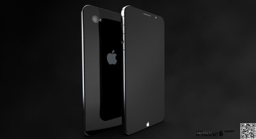 "Concept design for the ""iPhone 6"""