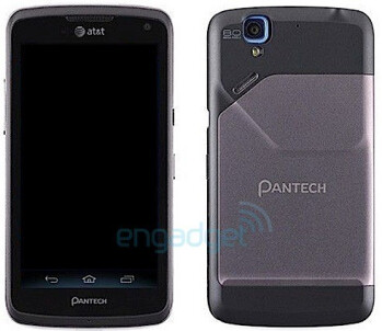 The Pantech Magnus, tipped to be heading to AT&T