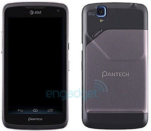The Pantech Magnus, tipped to be heading to AT&T - Pictured Pantech Magnus says cheese on the way to AT&T