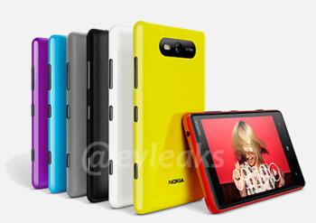 Nokia Lumia 820, no PureView