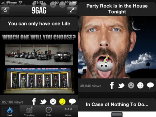 9Gag - iPhone, iPad - Free