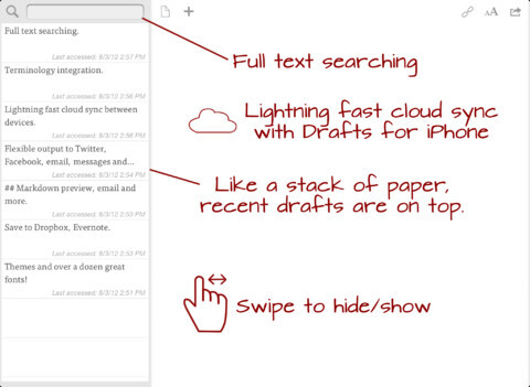 Drafts - iOS - $2.99