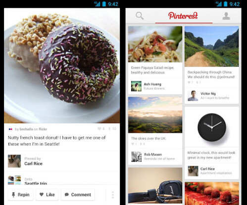 Pinterest - Android - Free