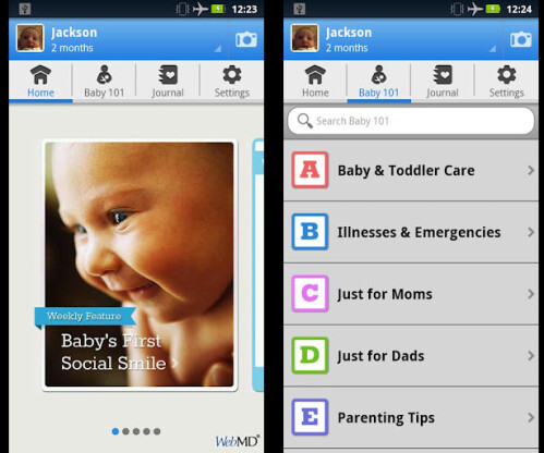 WebMD Baby - Android - Free