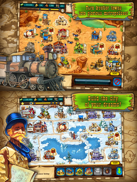 The Golden Years: Way Out West- iOS - $0.99