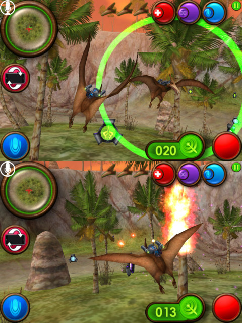 Nanosaur 2: Battle - iOS - Free