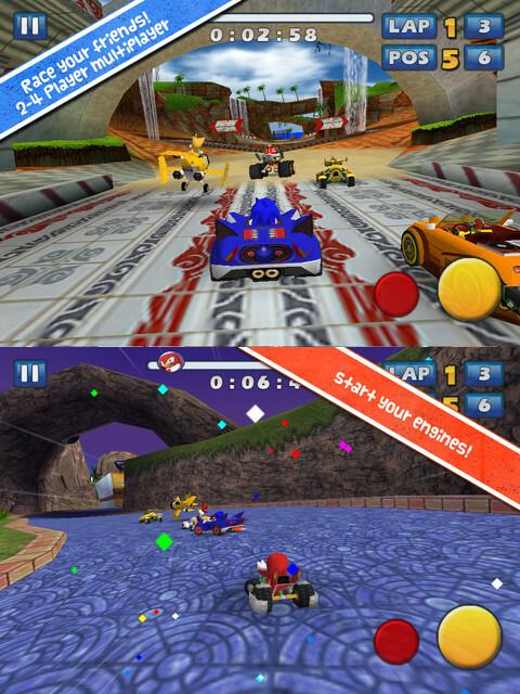 Sonic & SEGA All-Stars Racing - iOS - $1.99