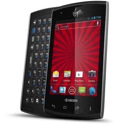 The Kyocera Rise - Kyocera Rise brings side-slider QWERTY action to Virgin Mobile for $99.99