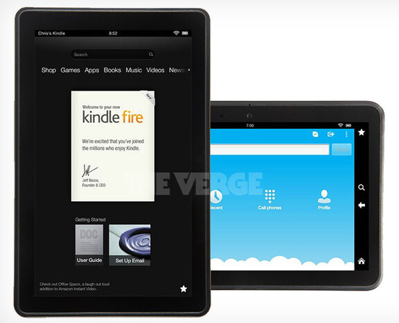 Leaked images of the Amazon Kindle Fire 2 - More images of Amazon Kindle Fire 2 leak out