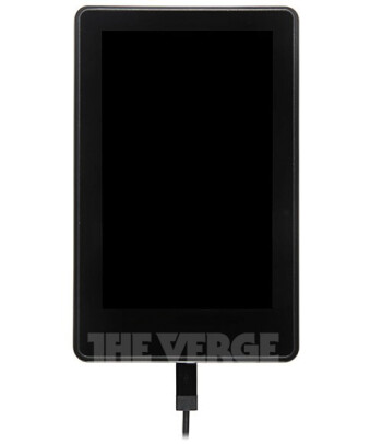 Leaked images of the Amazon Kindle Fire 2