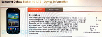 Samsung Galaxy Stellar 4G LTE coming to Verizon on September 6th