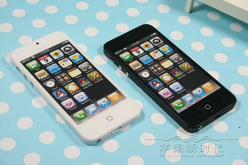 The mock-ups are used by case manufacturers to test their new products - Mock-ups of Apple iPhone 5 available in China starting as low as $5