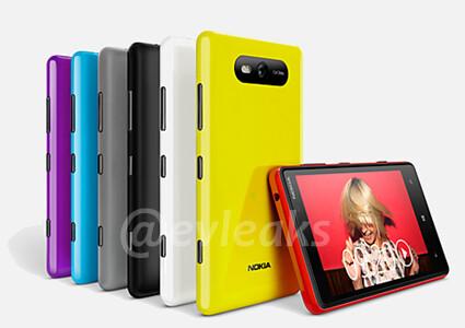 Alleged Nokia Lumia 820 rendering - Nokia Lumia 820 prototype poses for the camera