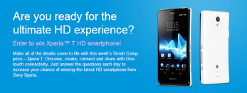 Here is how to win a Sony Xperia T by answering a few simple questions