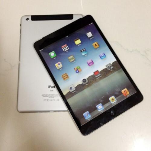 iPad mini new mockups