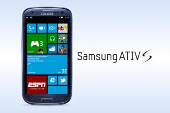 The Samsung Ativ S Windows Phone 8 model