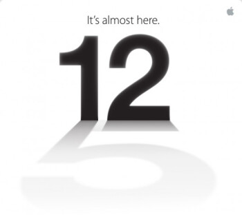 Apple officially announces iPhone 5 event on September 12th in San Fran