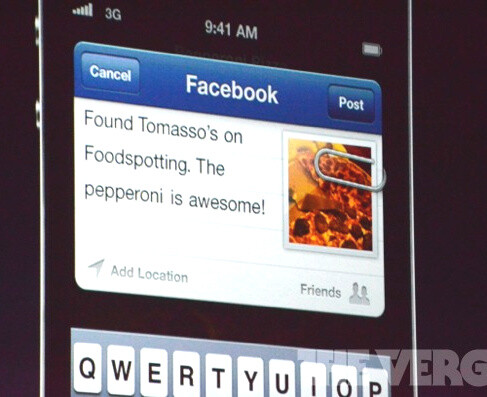 iOS 6 features deep Facebook integration - iPhone 5: what we think we know