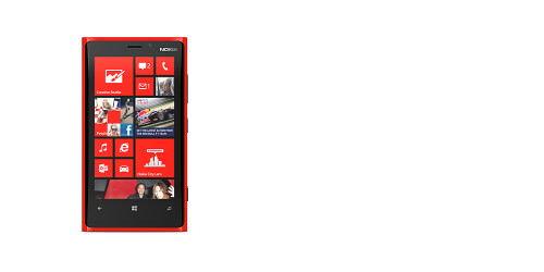 The Lumia 920 has a 4.5-inch PureMotion HD+ curved glass screen