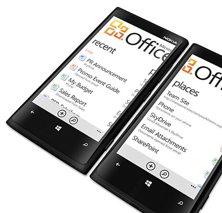 Office with SkyDrive cloud integration