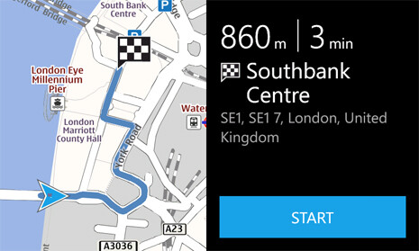 Nokia Drive for free voice navigation out of the box